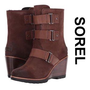 "NWT Sorel ""After Hours"" Suede Bootie sz 9"
